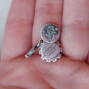 925 Silver Hufflepuff Harry Potter Charm
